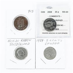 Estate Group of (4) Coins