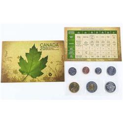 RCM 2011 UNC Coin Set