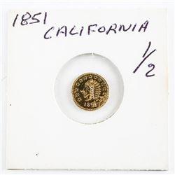 Estate Mini Gold Coin 1851 - California Gold