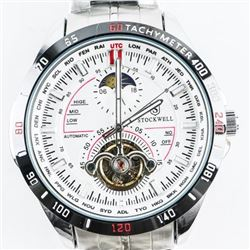 Stockwell Designer Watch automatic Lunar Dial (SER
