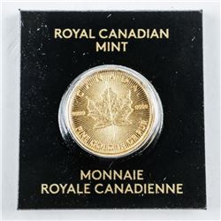 .9999 Fine Gold Maple Leaf Coin Serialized