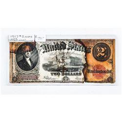1917 USA 2.00 Specimen/White (IR)