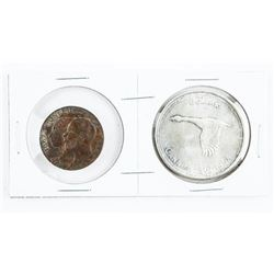 1867-1967 Silver Dollar and Confederation Medal
