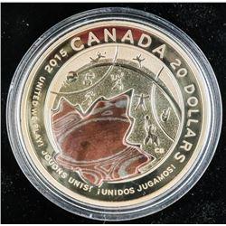 2015 .9999 Fine Silver $20.00 Coin LE Toronto, PAN
