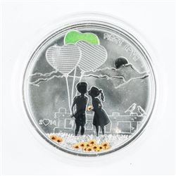 925 Sterling Silver $5.00 First Love Coin Mintage