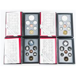 Group of (4) rCM Proof Coin Sets: 1992, 1993, 1994