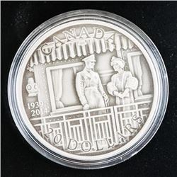 First Royal Visit .9999 Fine Silver $20.00 Coin. L