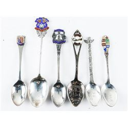 Estate Lot (6) Sterling Silver Spoons