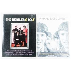 Lot (2) Beatles Collector Books 'A HARD DAYS WRITE