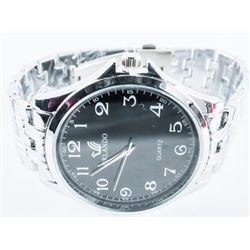 Unisex Quartz Watch Stainless Bracelet