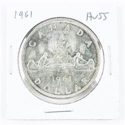 1961 Canada Silver Dollar AU55