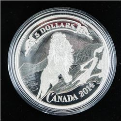 .9999 Fine Silver $5.00 Coin 'The Banknote, Series