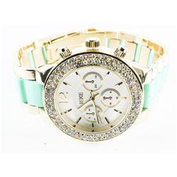 Ladies Fancy Quartz Watch with Swarovski Element -