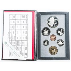 1995 RCM Proof Set with Silver Dollar