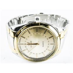 Gents Quartz Watch - 2-Tone