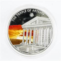 .925 Silver Proof 5-Dollars 'The Temple of Artemis