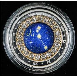.9999 Fine Silver $2500 Coin 'Zodiac-Aries'