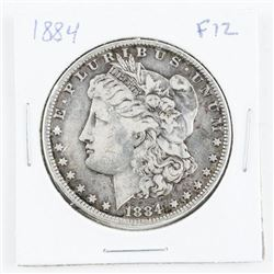 1884 USA Morgan Dollar