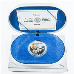 925 Sterling Silver $20.00 Coin 'The Lancaster' wi