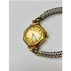 Vintage Rare Tiffany & Co. 18k Gold Spider Banded Watch