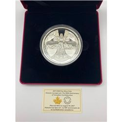 2017 $100 Fine Silver Coin - The 150th Anniversary of Canadian Confederation