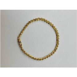 Jafa Ladies 10kt Gold and Diamond Bracelet