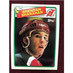 Vintage 1988 Brendan Shanahan Rookie Hockey Card