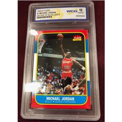 1996 Fleer Chicago Bulls Michael Jordan Decade of Excellence Basketball Card