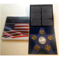 2008 Uncirculated Presidential Silver Dollar, American Eagle W/COA