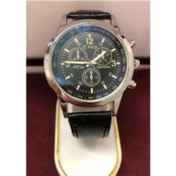 Silver Tone FHD Mens Wrist Watch