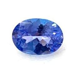 0.78ct Oval Faceted Tanzanite Gemstone