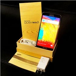 SAMSUNG GALAXY NOTE 3 Smartphone and Accessories in Box