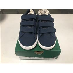 NEW LACOSTE NAVY BLUE SHOES SIZE CHILDS 13