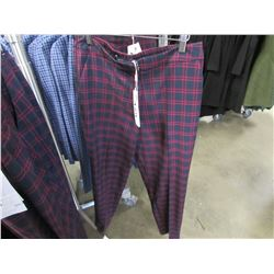 NEW ICHI BEET RED PANTS SIZE 38