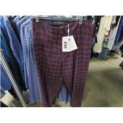 NEW ICHI BEET RED PANTS SIZE 40