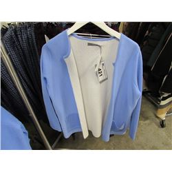 NEW B.YOUNG CORNFLOWER BLUE CARDIGAN SIZE X-LARGE
