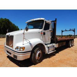 2007 INTERNATIONAL 9200i Flatbed Truck