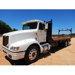 1999 INTERNATIONAL 9100 Flatbed Truck