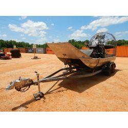 2012 PATHMAKER AIR BOAT Marine Equipment