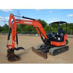 2016 KUBOTA KX040-4 Excavator - Mini