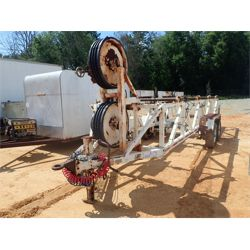 1995 L.A. WOODS TR-BWT-31-4RC Reel /Tubing Trailer