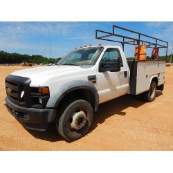 2010 FORD F450 Service / Mechanic / Utility Truck