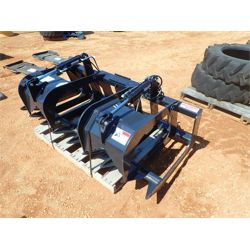 STOUT HD72-8 GRAPPLE Skid Steer Attachment