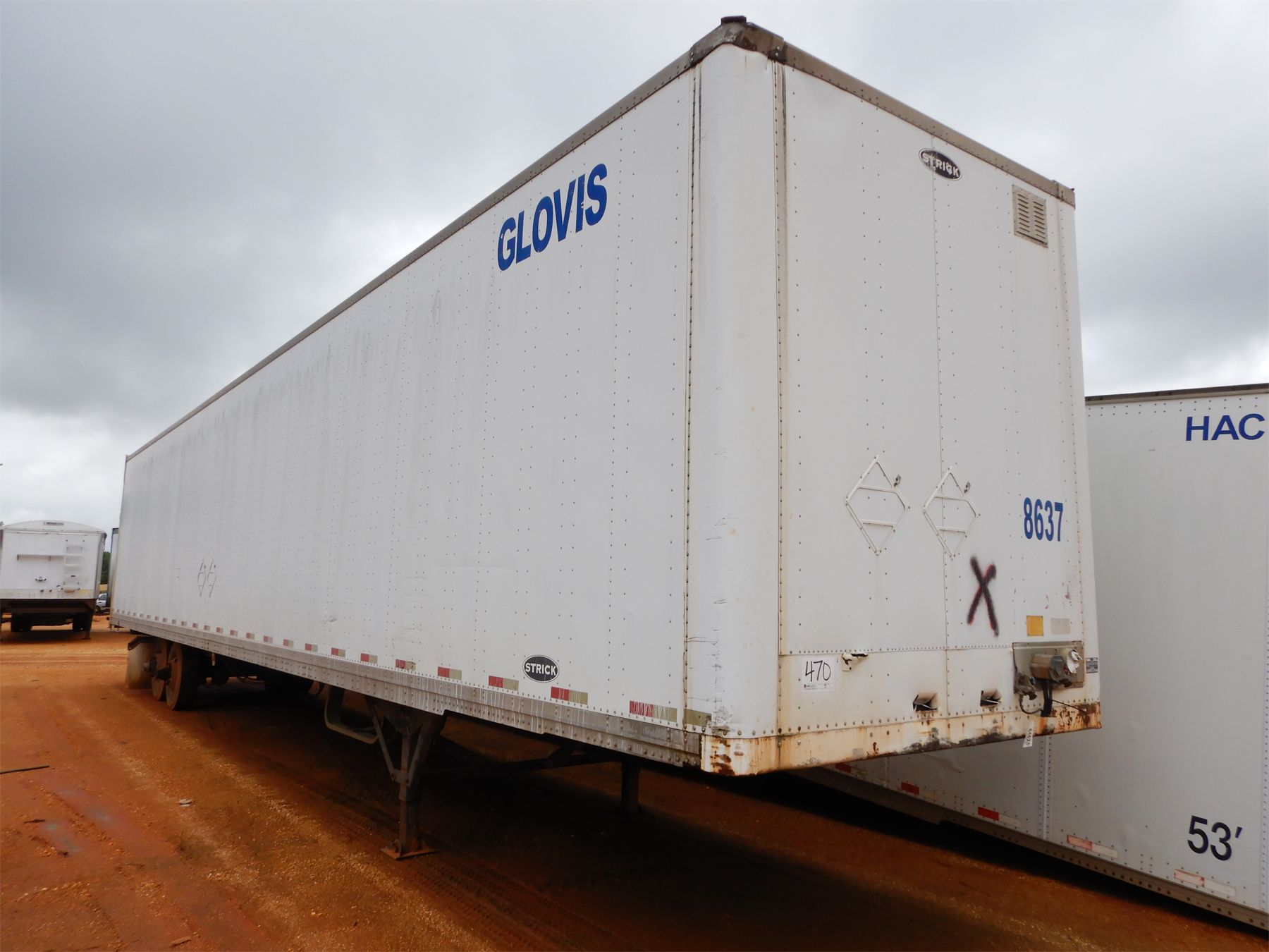 2006 STRICK Dry Van Trailer - J.M. Wood Auction Company, Inc.