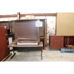 desks, tables, cabinets, bookcases, file cabinets, Selling Offsite: Located in Tuscumbia, AL