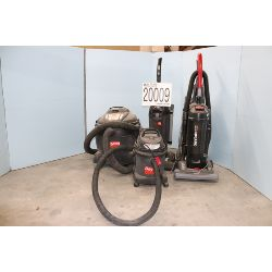 vacuums, Selling Offsite: Located in Tuscumbia, AL