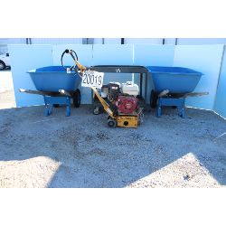 utility cart, wheel barrows, scarifier, Selling Offsite: Located in Tuscumbia, AL