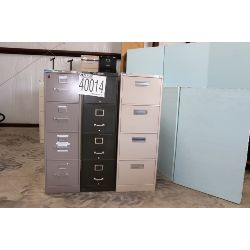 file cabinets, Selling Offsite: Located in Alexander City, AL