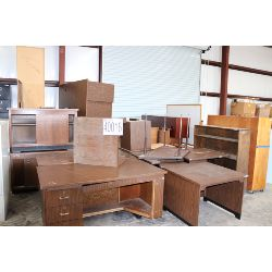 desks, credenzas, bookcases, Selling Offsite: Located in Alexander City, AL
