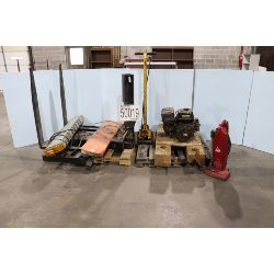 vacuums, water pump, floor jack, light bar, Selling Offsite: Located in Tuscaloosa, AL